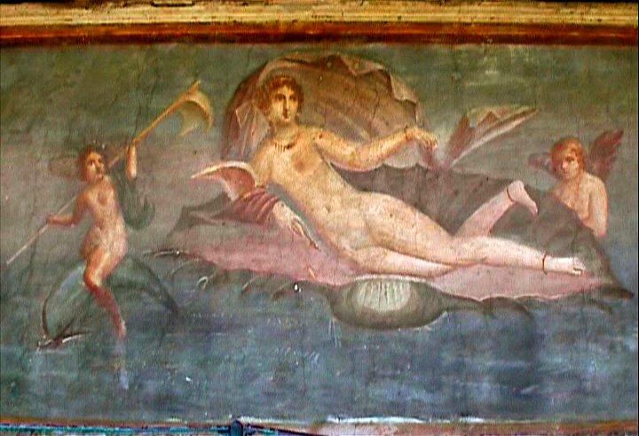 La Maison De Vénus à La Coquille La Peinture Murale